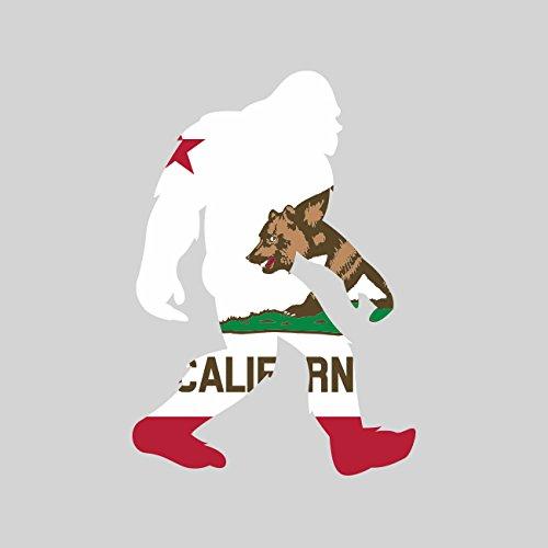 California Bigfoot Sticker FA Graphix Vinyl Decal CA big foot sasquatch (Bigfoot Sticker)