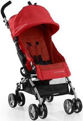 Bumbleride 2013 Flite CAYENNE RED Compact Lightweight Single Baby Stroller, Baby & Kids Zone