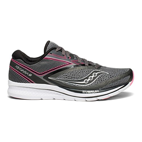 Fitness Shoes black pink Saucony Kinvara Grey Women''s 9 qYtFP