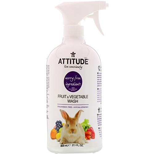 ATTITUDE Fruit Vegetable Wash 27 1 fl oz 800 ml