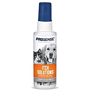 ProSense Itch Solutions Hydrocortisone Spray for Pets with Aloe 15