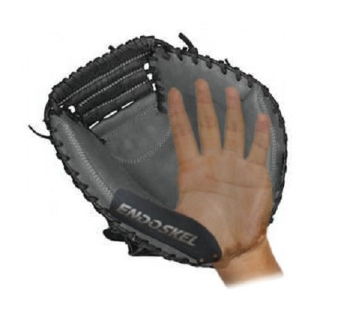 Worth Catchers Glove - Endoskel Baseball Catchers Thumb Guard RHT (Right Hand Thrower). Made with High Grade Aircraft Aluminum & Xtreme Impact Protection Foam Technology