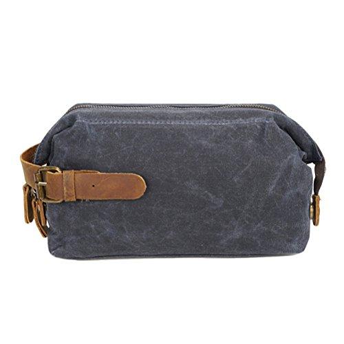 Zipper Wallet Phone Clutch Mens Lightweight resistant Gray Purse Zhuhaitf Canvas Womens Waterproof Bag Wear TYEn6w