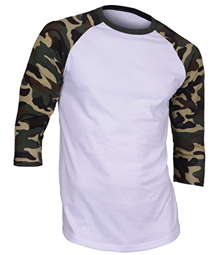 Dream USA Men's Casual 3/4 Sleev...