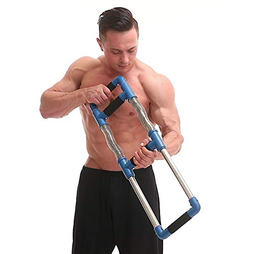 GoFitness Super Push Down Bar - Total Upper Body Workout Equipment, Press Down Machine - Chest Workout, Strength Training, Home Fitness by GoFitness (Image #6)