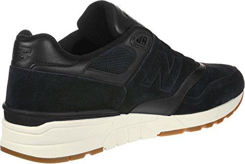 New Balance Men's 597 Low-Top Sneakers, Red/Black/White Black/Sea Salt