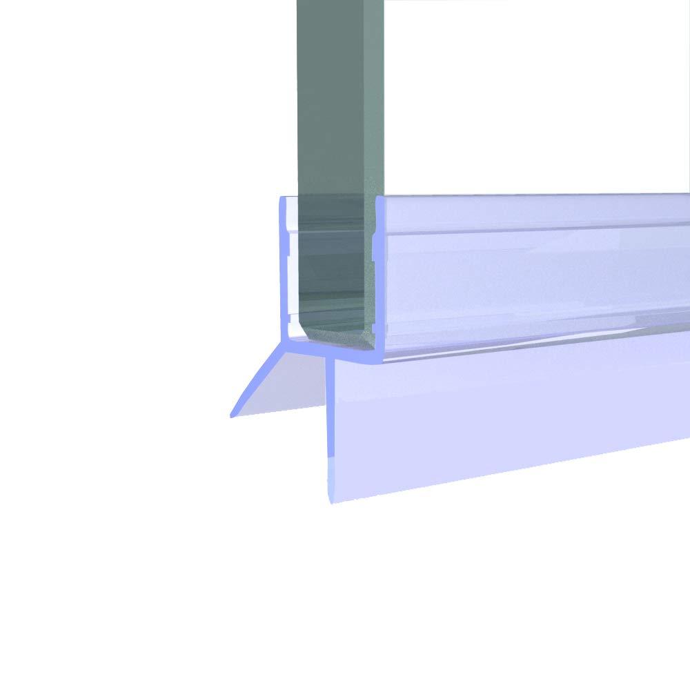 Cristal Junta 10 mm cristal. Longitud 60 cm hasta 200 cm. Junta Junta para puerta de ducha y ducha, ducha Perfil Labios. Estamos todos Cristal de resistencias de 5 mm hasta 10 mm. Por favor, examine en nuestra Ofertas. Cristal