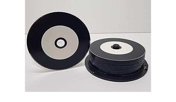 Graphic Express CDR80-25 CD de Vinilo, imprimible, Color Negro ...