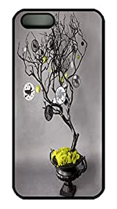 iPhone 5S Case VUTTOO Halloween Tree 1 PC Hard Plastic Case for iPhone 5S - Black