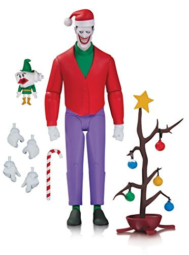 DC Collectibles Batman The Animated Series Christmas Action Figure with The Joker by DC Collectibles