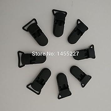 Amazon.com: 20 mm. Plástico Negro de alta calidad chupete ...