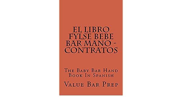 Amazon.com: El LIBRO FYLSE BEBE BAR MANO - Contratos (Borrowing Is Allowed): e book, Versión FÁCIL LEER ... mirar dentro! (Borrowing Is Allowed) (Spanish ...