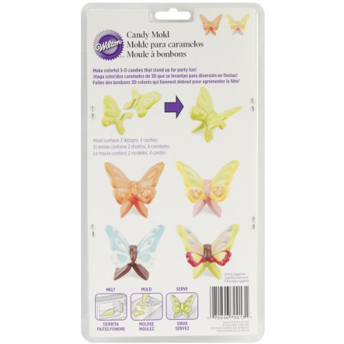 Candy Mold-Butterfly Wings