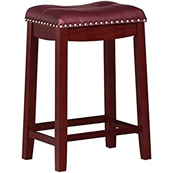Amazon Com Angel Line Cambridge Padded Saddle Stool