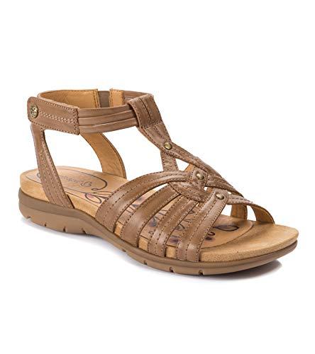 BareTraps Women's, Kylie Sandal Almond 6 M