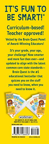 Brain Quest Kindergarten, Revised 4th Edition: 300 Questions and Answers to Get a Smart Start (Brain Quest Decks)