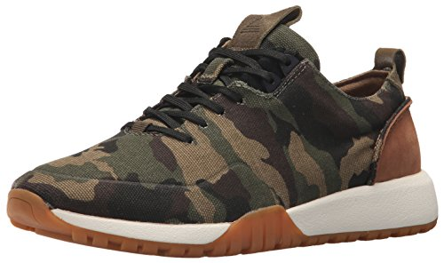 Aldo Men's RELLE Fashion Sneaker, Forest Green, 8 D US