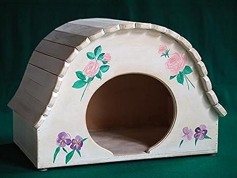 Igloo Shabby chic 2.0 Talla XL, casita Juegos Caseta Rascador para gatos indoor, Cat