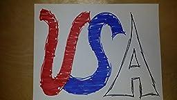 Handmade USA Flag