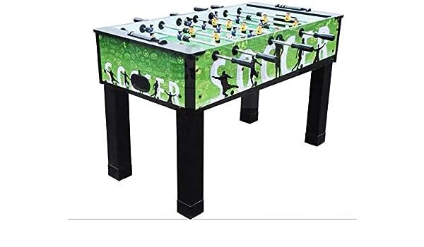 YUHT Futbolín Infantil,Futbolín de Mesa Competencia fútbol de la Tabla de futbolín futbolín Sized Cubierta de recreación for la Sala Arcade Juego Metal 54