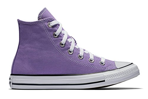 Converse Unisex Chuck Taylor All Star High Top Sneakers Lilac 153863F, US Men 3.5 - Converse Women High Top Purple