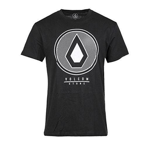 Volcom Herren T-Shirt DARK HORIZON BSC SS - BLACK
