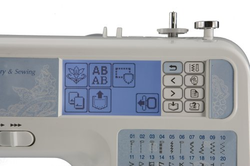 Brother SE40 Computerized EmbroideryandSewing Machine Import It All Custom Brother Se350 Computerized EmbroideryAndSewing Machine