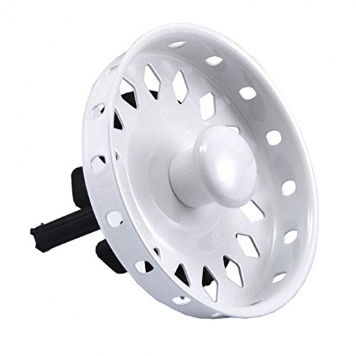 Jones Stephens Polar White Replacement Basket Strainer Fits Part No. B02001- Pack of 5