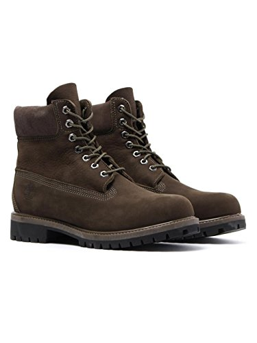 Timberland 6-inch Premium Waterproof, Bottes Classiques Homme Vert Olive
