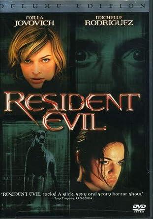 Amazon Com Resident Evil Deluxe Edition Milla Jovovich