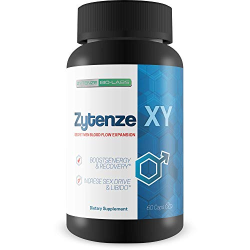 (Zytenze XY - Male Expansion Formula & Testosterone Support - Secret Men Blood Flow Expansion - Use Zytenz e to Help Boost Male Energy, Recovery, Drive, Libido, Circulation, Nutrient Delivery)