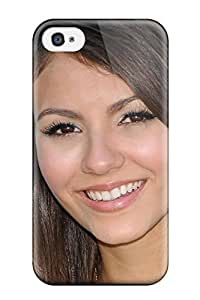 Quality ZippyDoritEduard Case Cover With Victoria Justice Nice Appearance Compatible With Iphone 4/4s