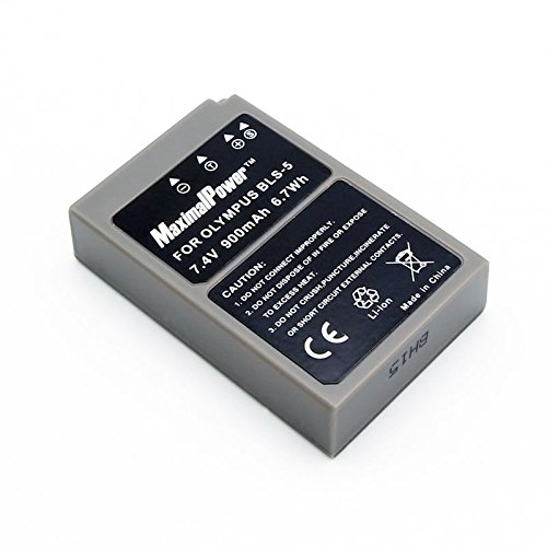 Maximal Power DB OLY BLS-5 Replacement Battery Olympus BLS-5 for Olympus E-PL2 Camera