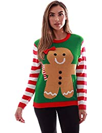 Womens Ugly Christmas Sweater - Sweaters Women
