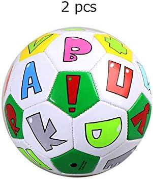 Fanuosu Pelota de Futbol, Mini balón de fútbol Tamaño Oficial 2 ...