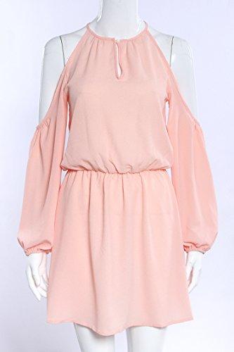 Vestidos de Verano IHRKleid® Correa Cortocircuitos del Mono de los Rosa