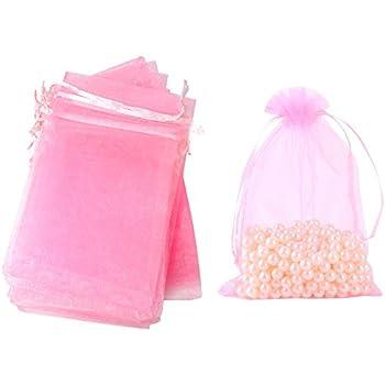 Amazon.com: Beadaholique Cordón de organza bolsas de regalo ...