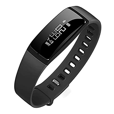 Fitness Tracker Waterproof Smart Band with Heart Rate Blood Pressure Sleep Monitor Pedometer Bluetooth Smart Bracelet for ios& Android
