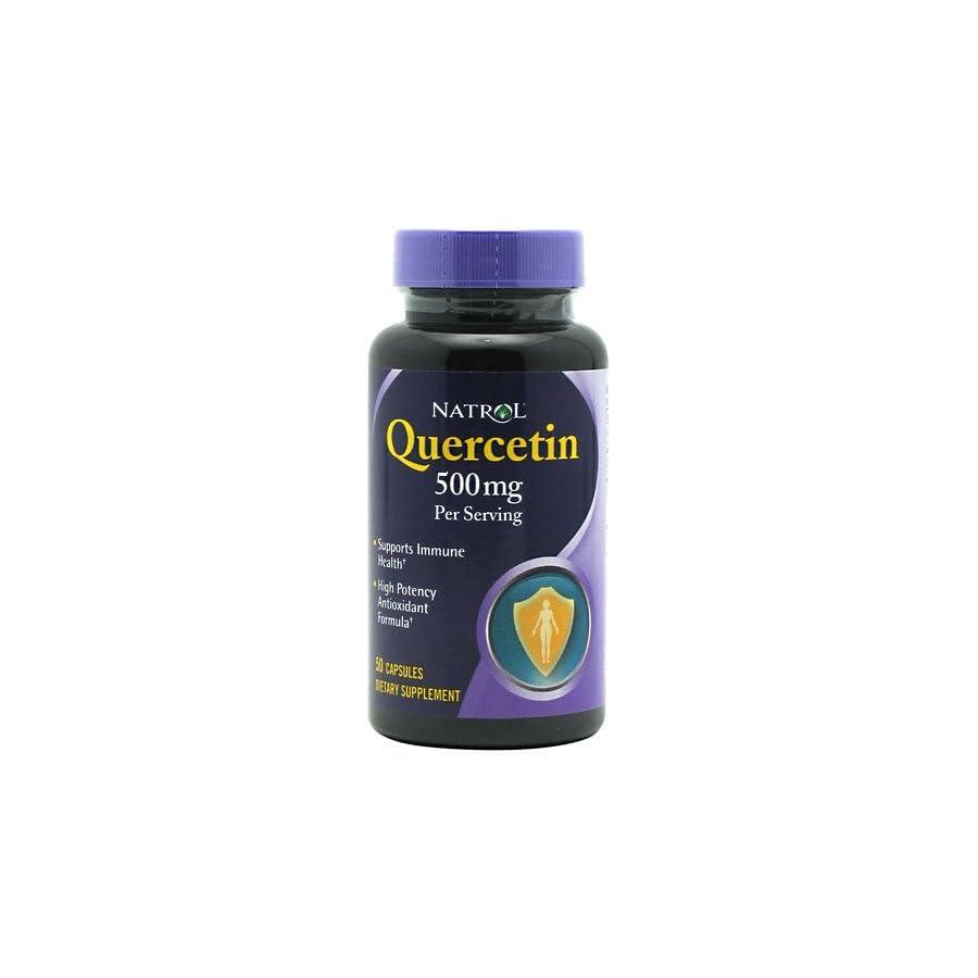 Natrol Quercitin Complex, 50 Capsules (2 Pack)