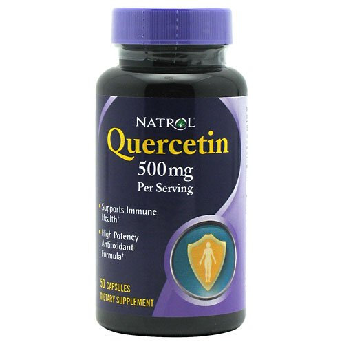 Natrol Quercitin 50 capsules (Pack of 2)