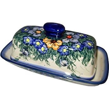 Amazon.com: Boleslawiec Gres – polaco cerámica plato de ...