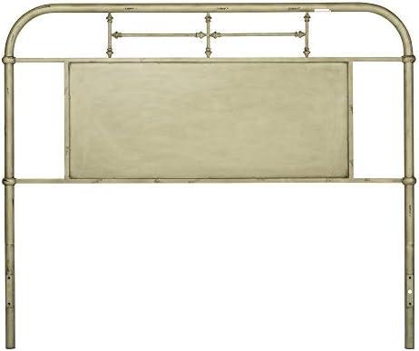 Liberty Furniture Industries Vintage Series Bedroom King Metal Headboard - the best modern headboard for the money