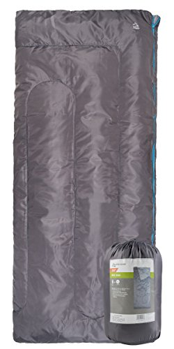 Close out; Fire sale; Red Cloud Camping Sleeping Bag; Camping Gear; Free Stuff Sack Included (Grey)