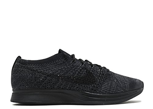 Nike Men Flyknit Racer Running (black/black-anthracite) Size 9.5 US