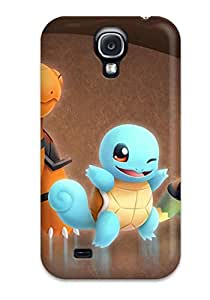New Arrival Case Cover With JeyTvun9435OQQMw Design For Galaxy S4- Pokemon Turtles