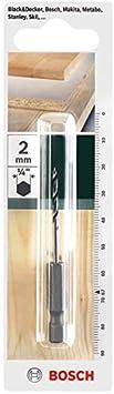 Bosch 2609255147 M/èche /à bois h/élico/ïdale HSS queue six pans 1//4 3,0 x 35 x 72 mm