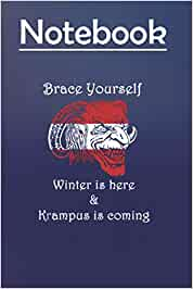 Composition Notebook: Brace yourself Size 6'' x 9'', 100 Pages for Notes, To Do Lists, Doodles, Journal, a special gift for Kids, Him or Her