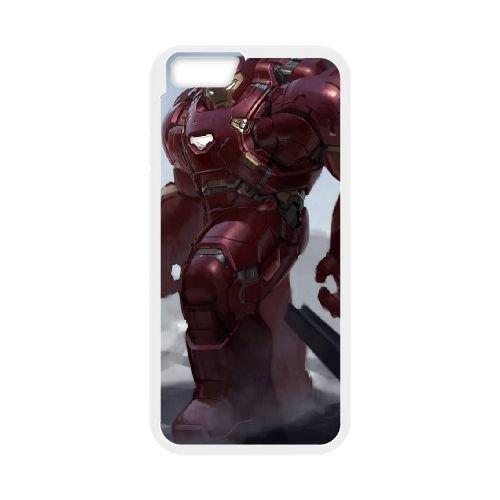 Avengers Age Of Ultron coque iPhone 6 Plus 5.5 Inch Housse Blanc téléphone portable couverture de cas coque EBDOBCKCO12085
