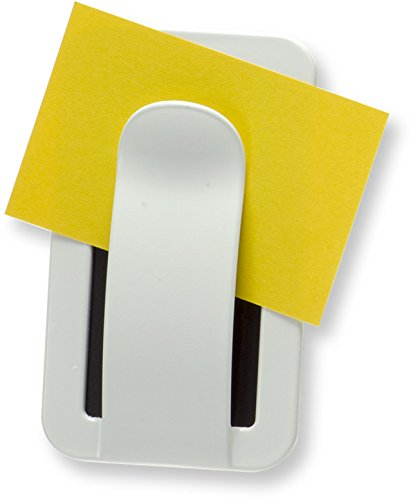 Officemate Magnet Plus Magnetic Envelope and Note Holder, White (92551)