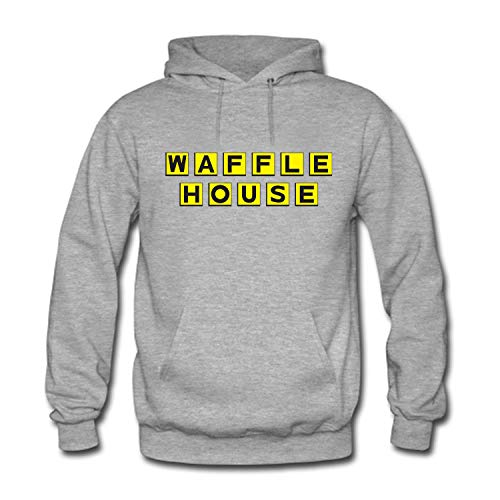 Zenobian Men's Waffle House Logo Hooded Sweatshirt for sale  Delivered anywhere in USA